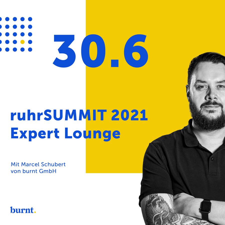 ruhrSUMMIT 2021 Exper Lounge