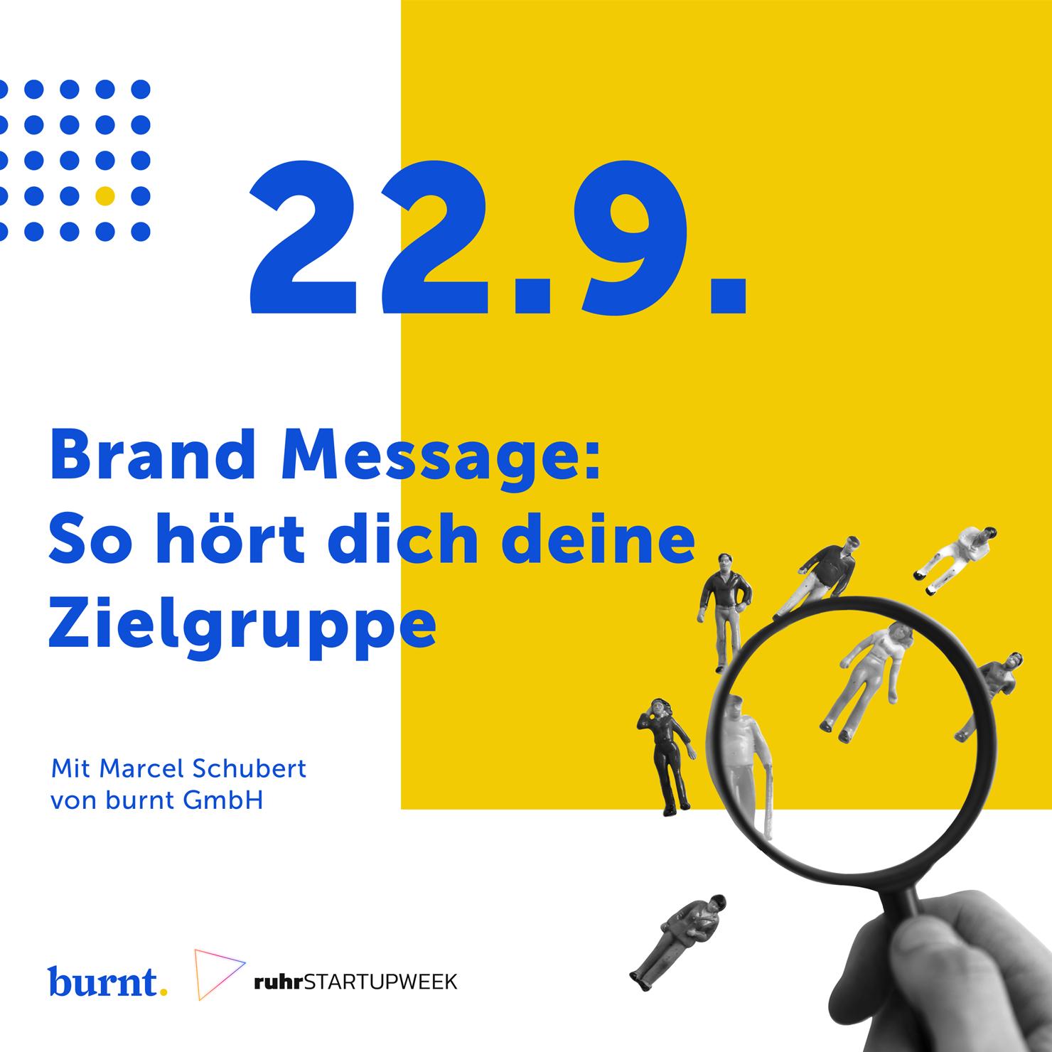 Branding Vortrag für Startups